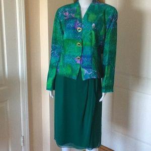 Anne Crimmins silk suit